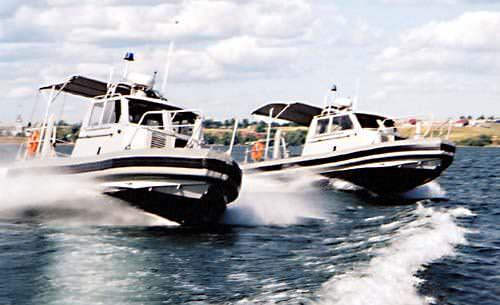 MetalCraft Marine's Kingston Patrol Boats delivered to Beirut Airport's Fire Department