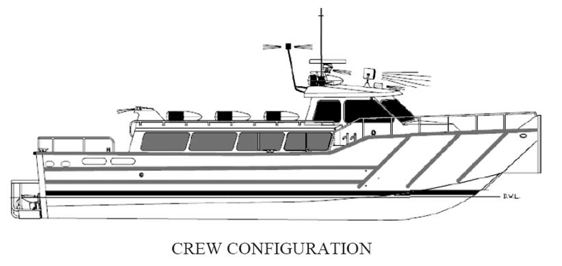 Kingston 54 60 High Speed Patrol And Crew Boat