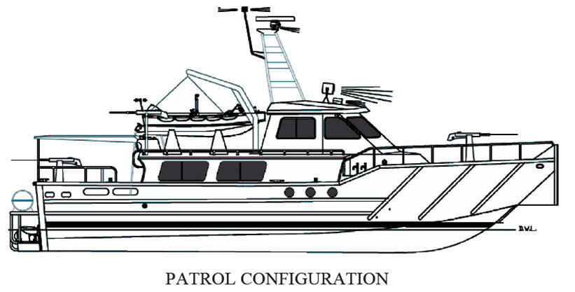 Line Drawing Boat : Awo boat plans aluminum plate