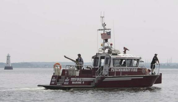 Saving a whale with a MetalCraft Marine fireboat